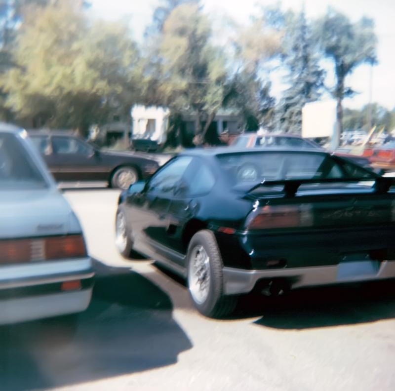 Black Fiero GT