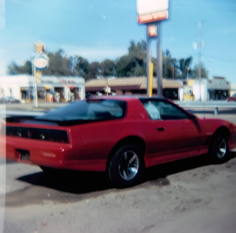 1987 Trans Am on the dealership lot