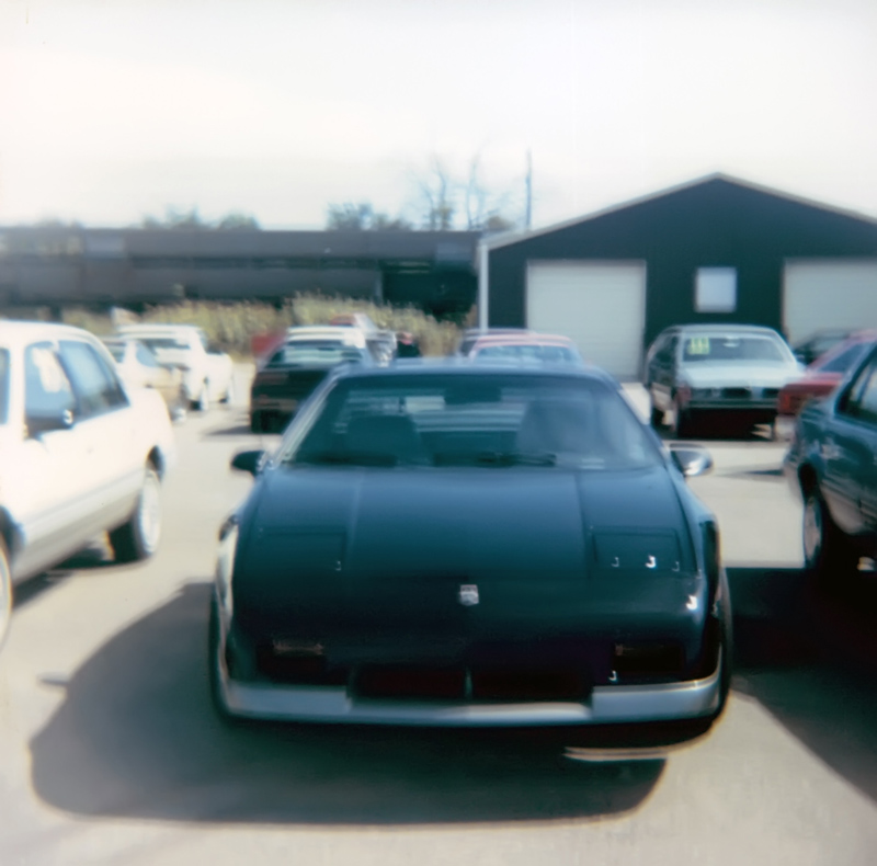 new black 1987 Fiero GT