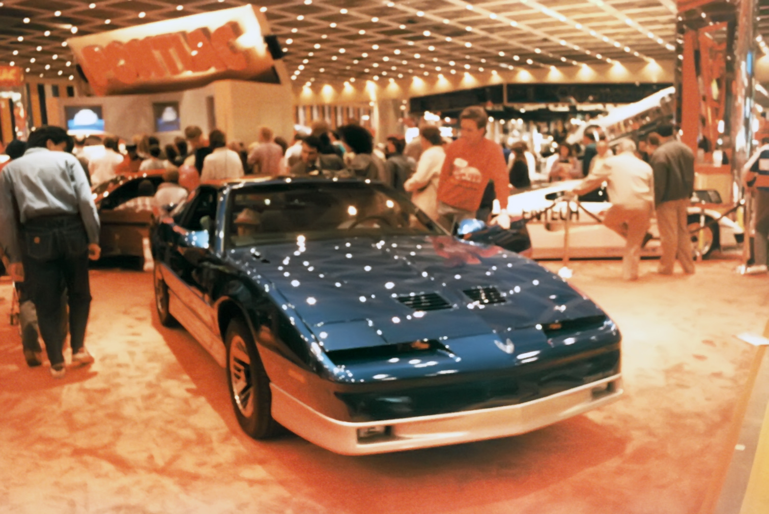 I was pretty much in love with the Pontiac Firebirds at this point in my life! Only Fiero's were cooler.