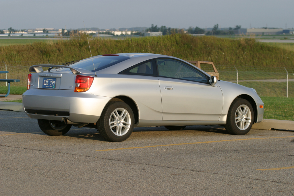 celica rear view