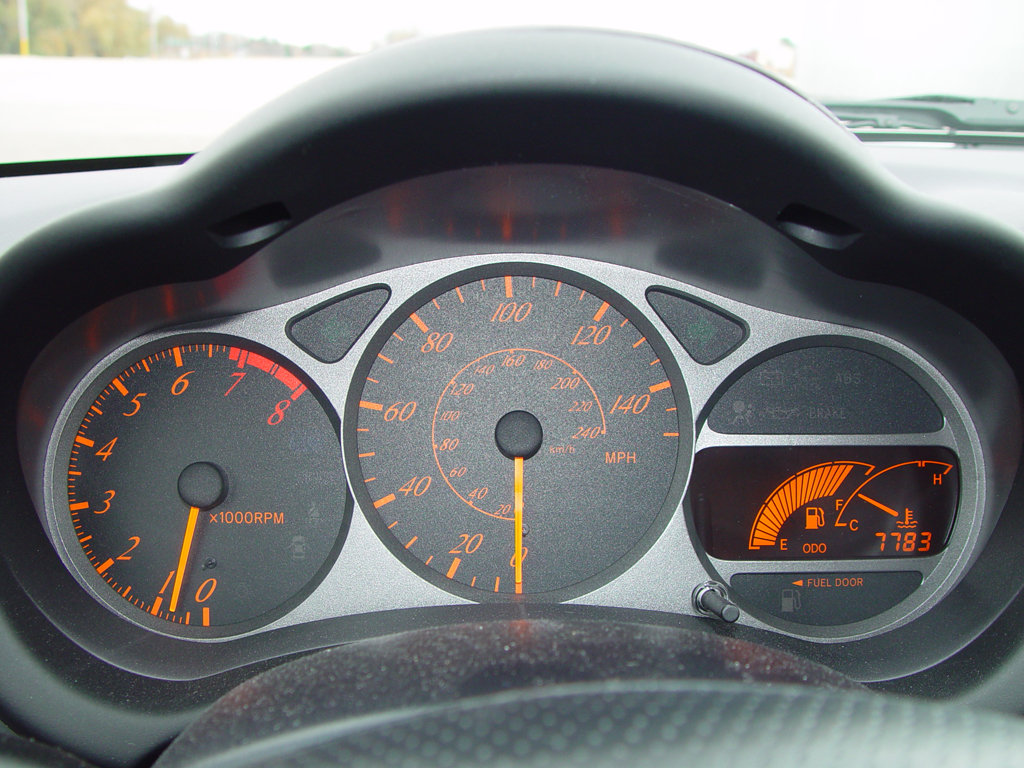 Celica GT Instrument Cluster And Gauges