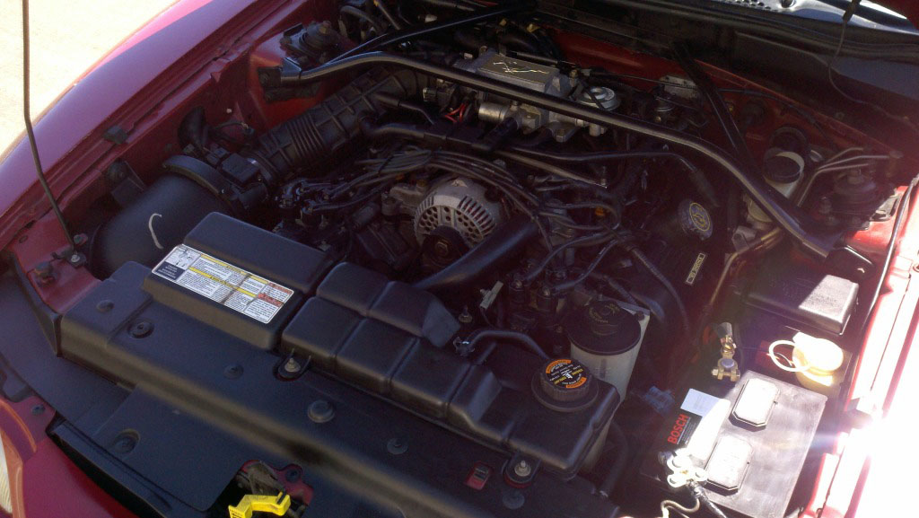 mustang gt engine