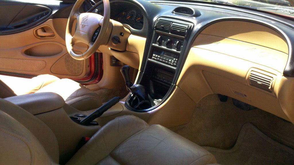 1996 Ford Mustang Interior Parts
