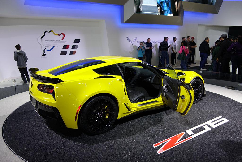 Yellow C7 Z06