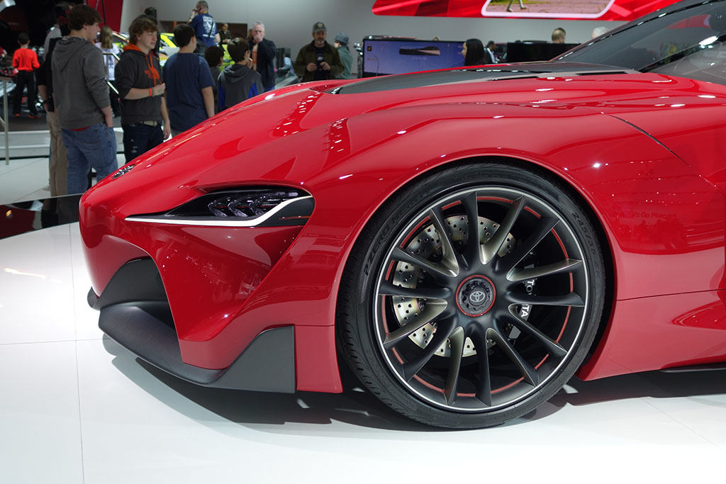 nose of the Toyota FT-1 concept