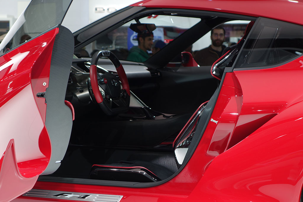 Interior of the Toyota FT-1 concept