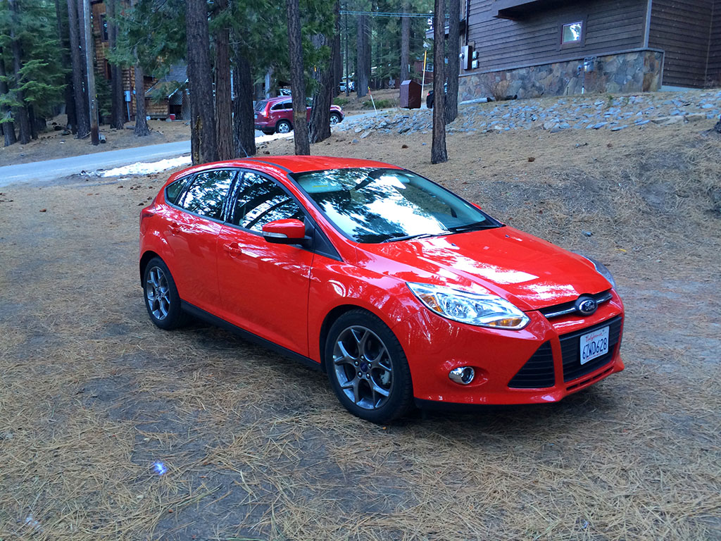 Ford Focus compact size
