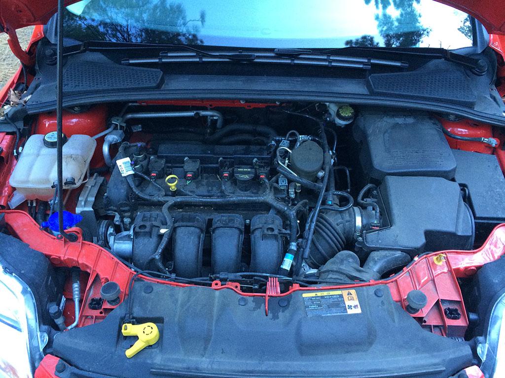 160hp inline 4-cylinder engine