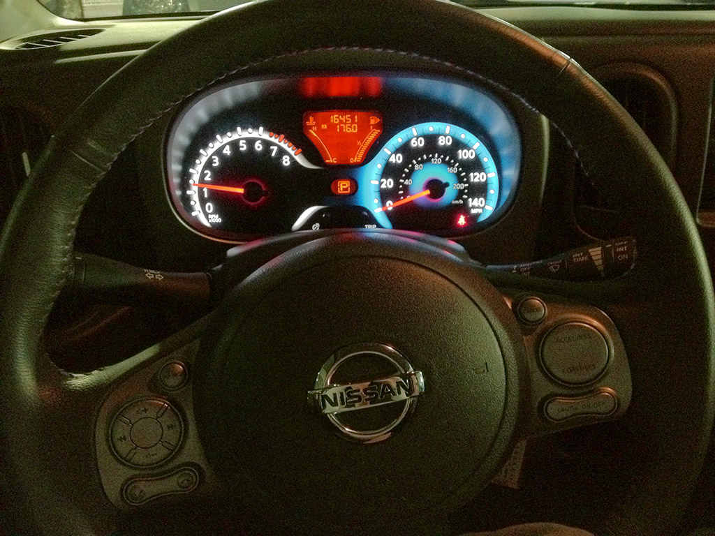 nissan cube gauges