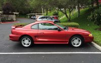 1996 Ford Mustang GT side view