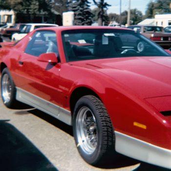 brand new 1987 Pontiac Trans Am