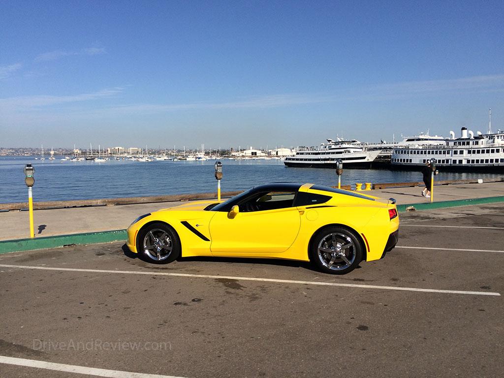 C7 Corvette in San Diego