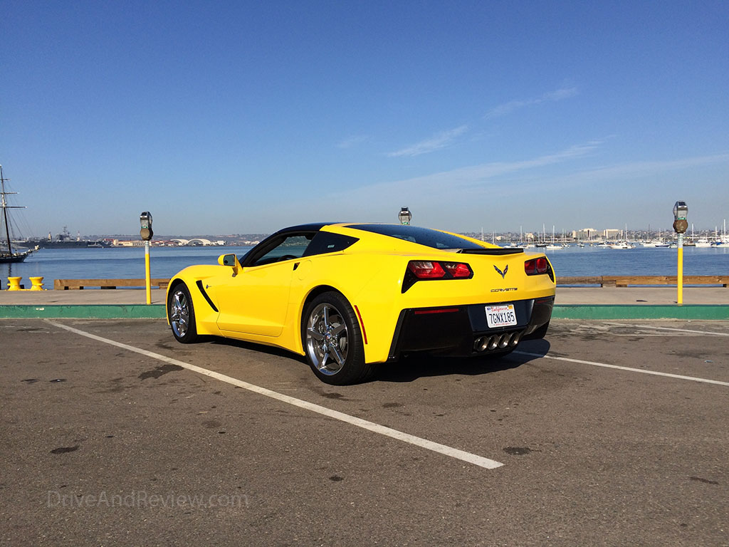 velocity yellow 2015 corvette stingray