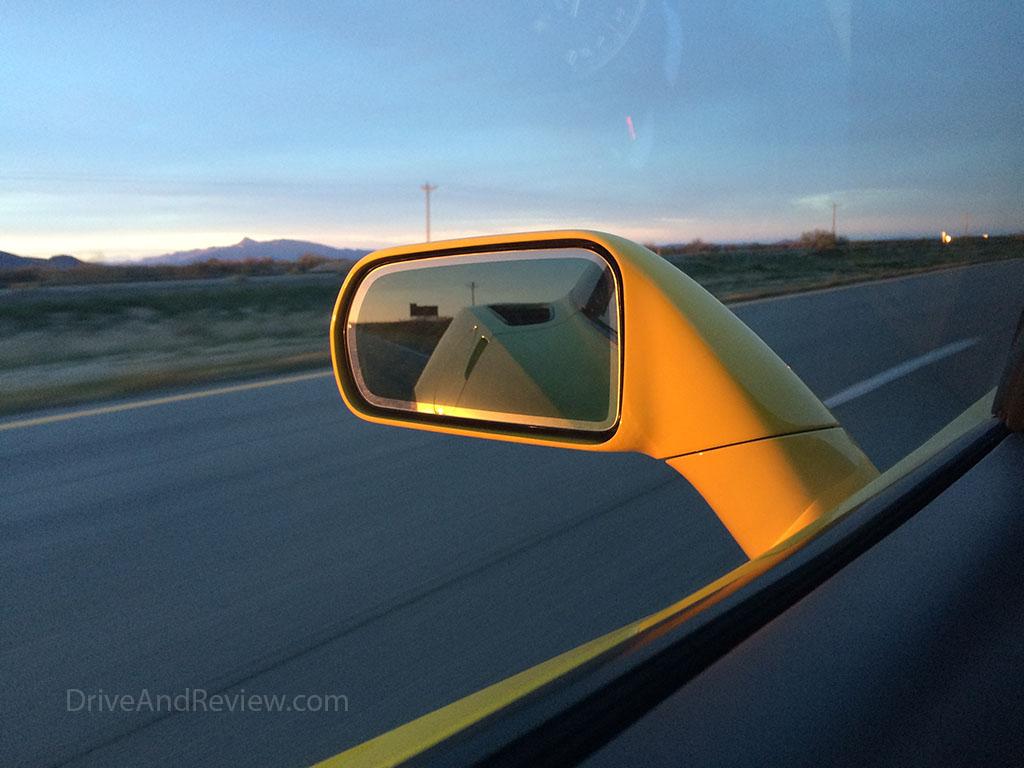corvette rear view mirror