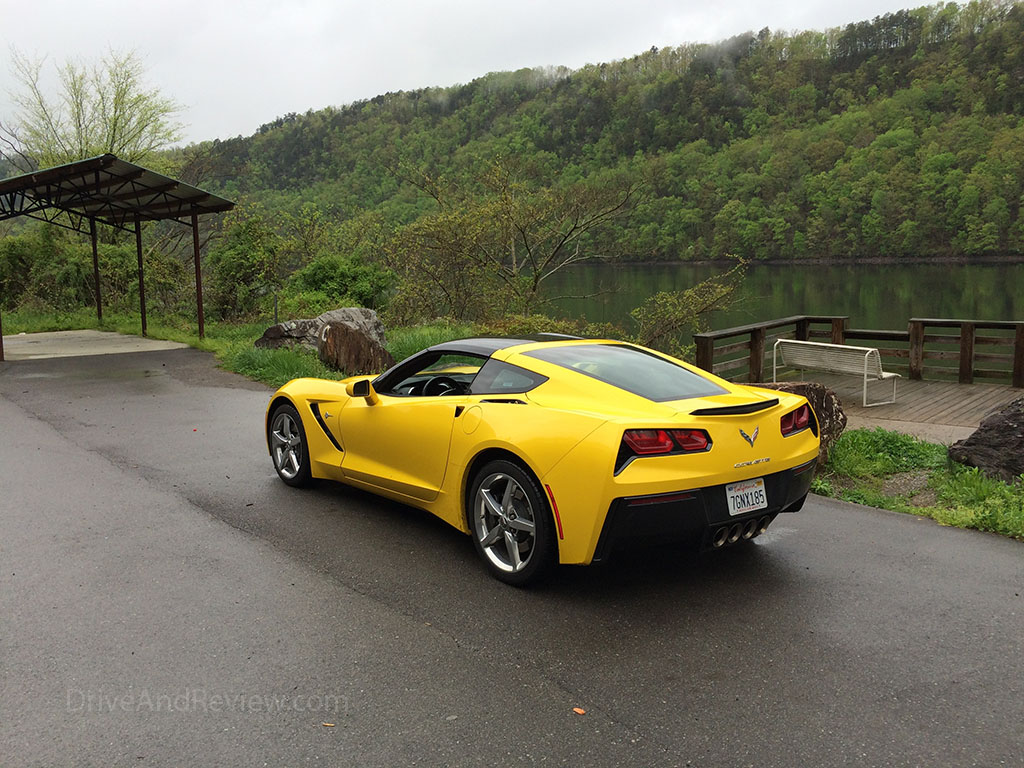 corvette tail of the dragon tennessee