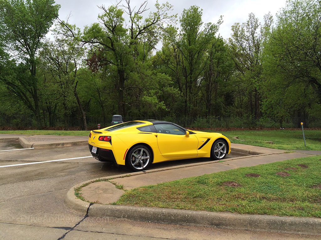 velocity yellow c7 corvette