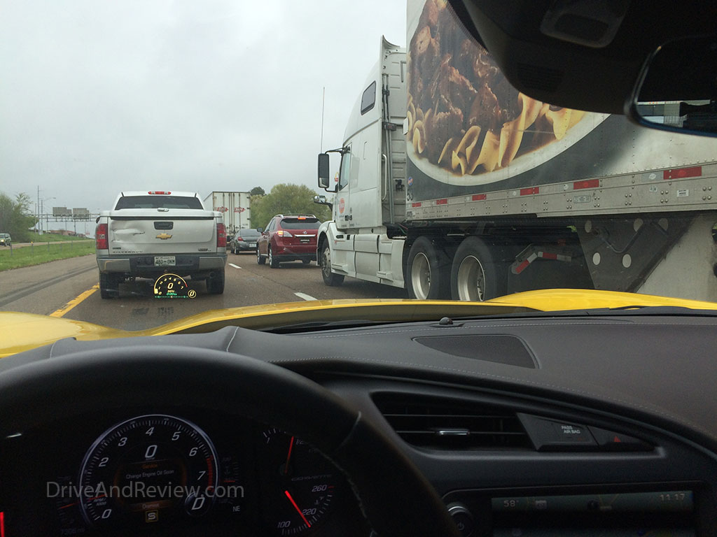 traffic jam in Jackson, TN