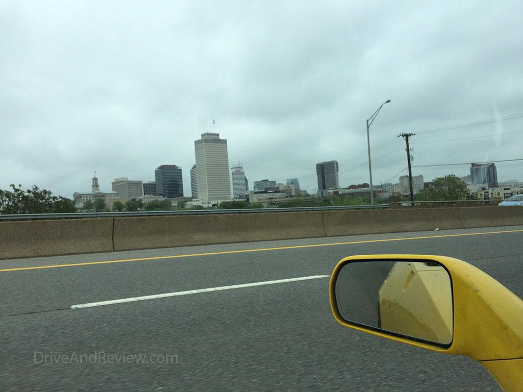 nashville, TN from interstate 40