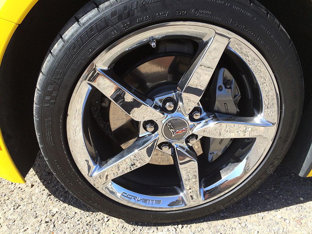 2015 c7 corvette chrome wheels
