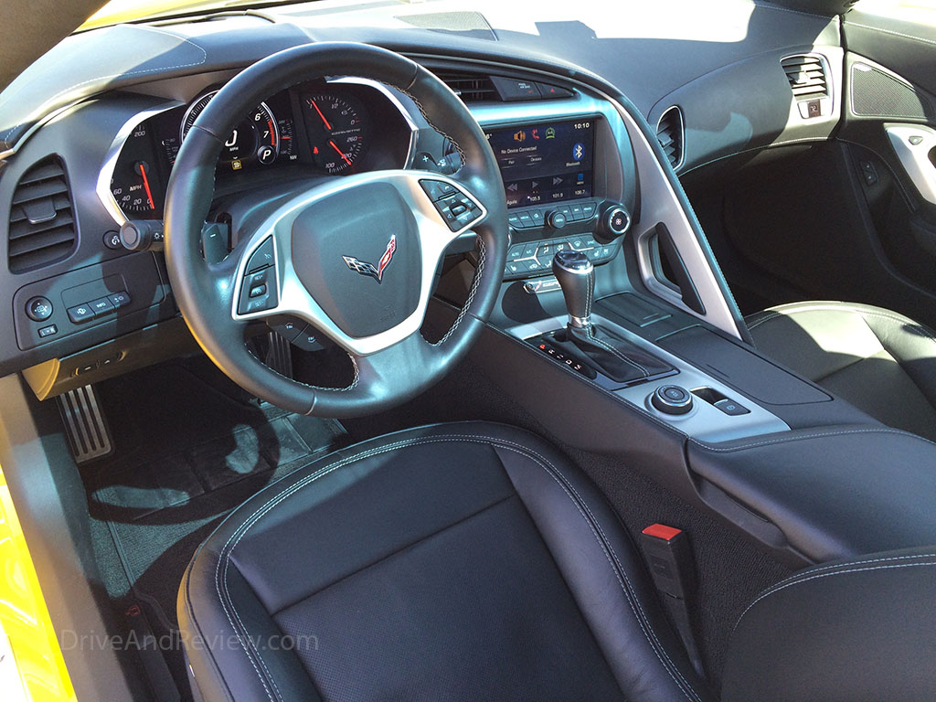 C7 Corvette Interior Steering Wheel