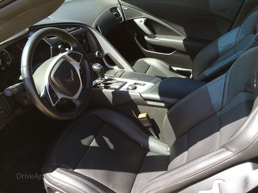 2015 corvette stingray seats interior