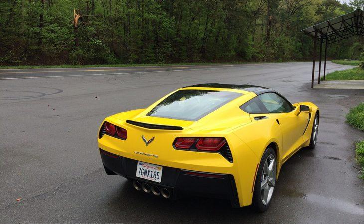 yellow c7 corvette us129