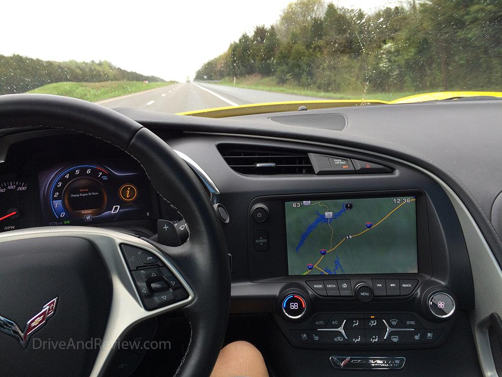 driving the c7 corvette POV