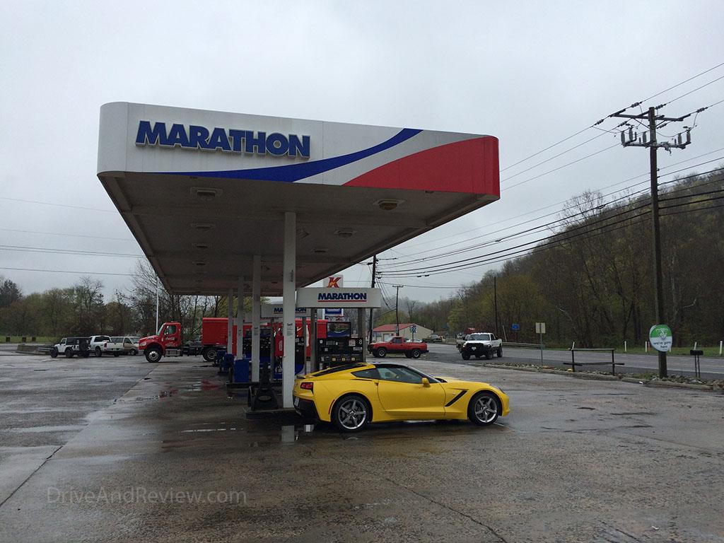marathon gas station Atkins, VA