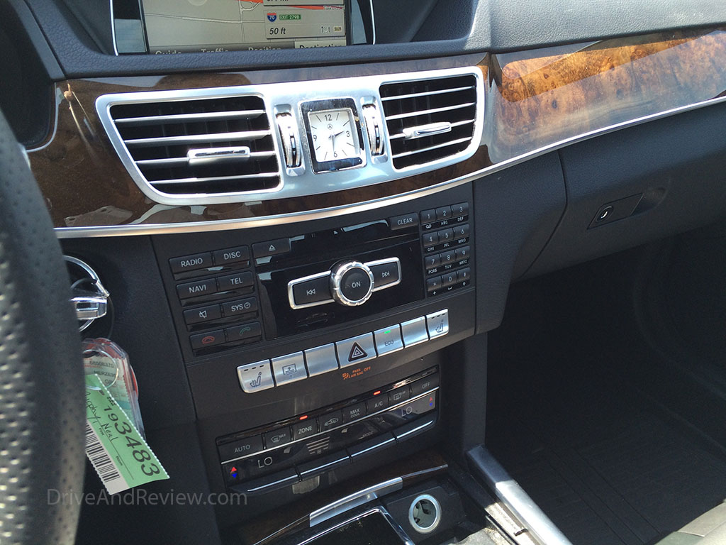 2015 mercedes benz e350 center console