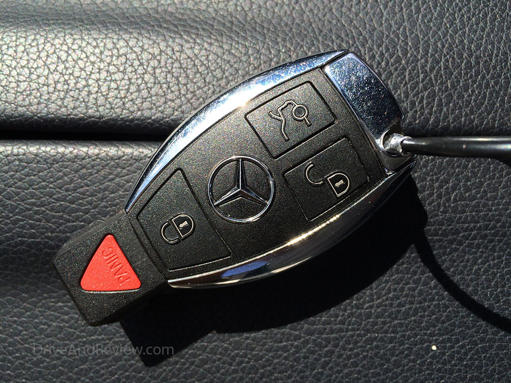 mercedes e350 key fob buttons