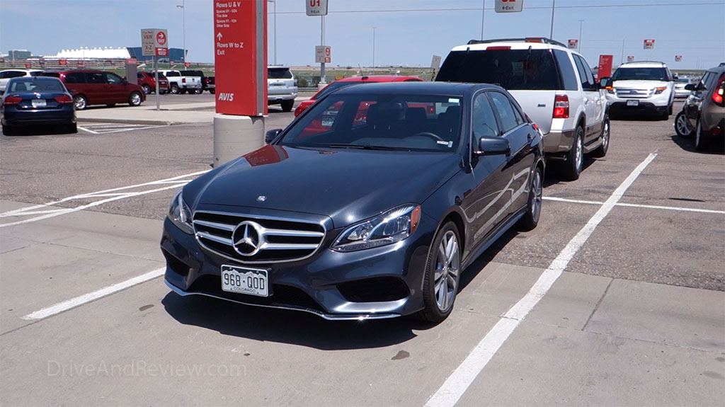 mercedes benz e350 avis rental car