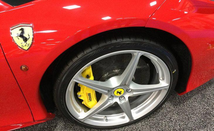 Ferrari 458 wheel