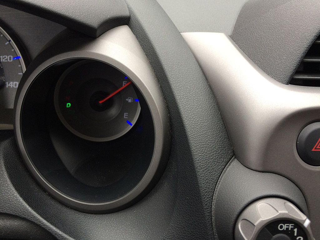 2010 honda fit interior details