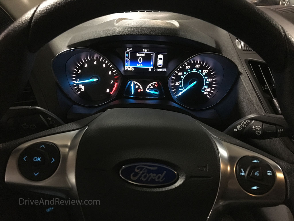 Ford Escape gauge cluster