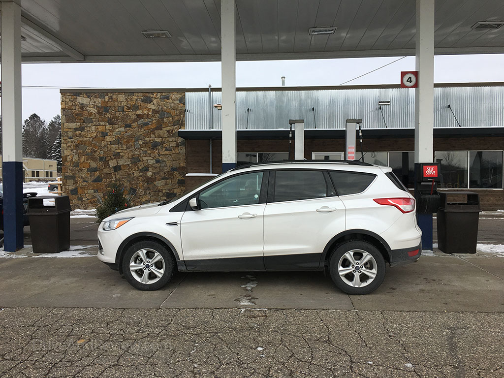 small SUV ford escape