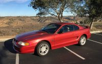 Rio Red 1996 Ford Mustang GT