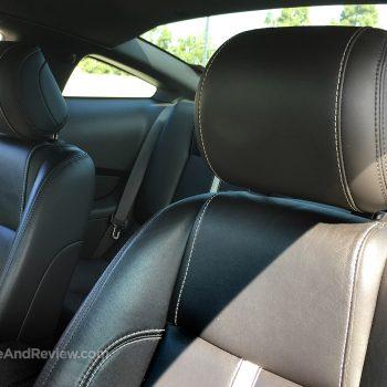 mustang adjustable headrests