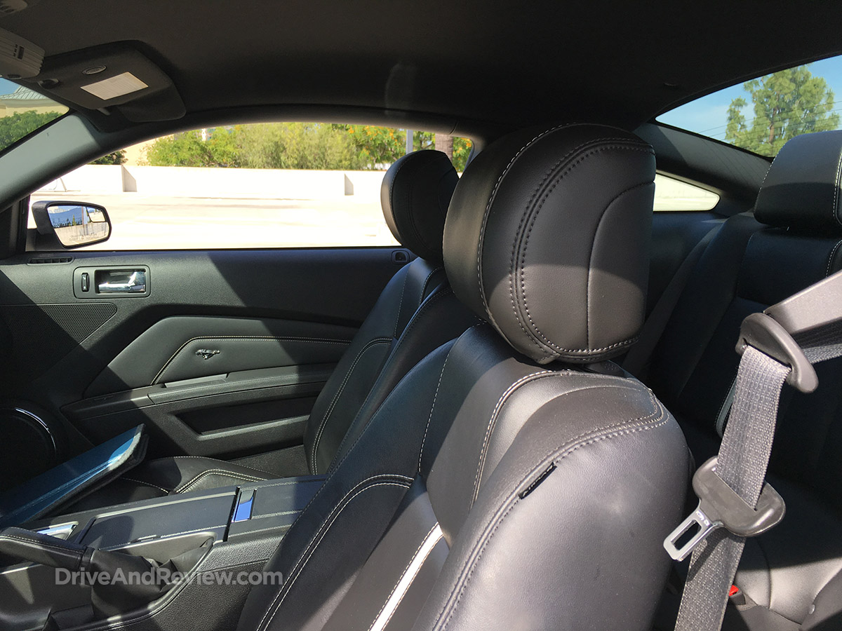mustang headrest adjustment