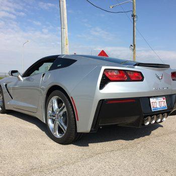 2016 chevy corvette silver