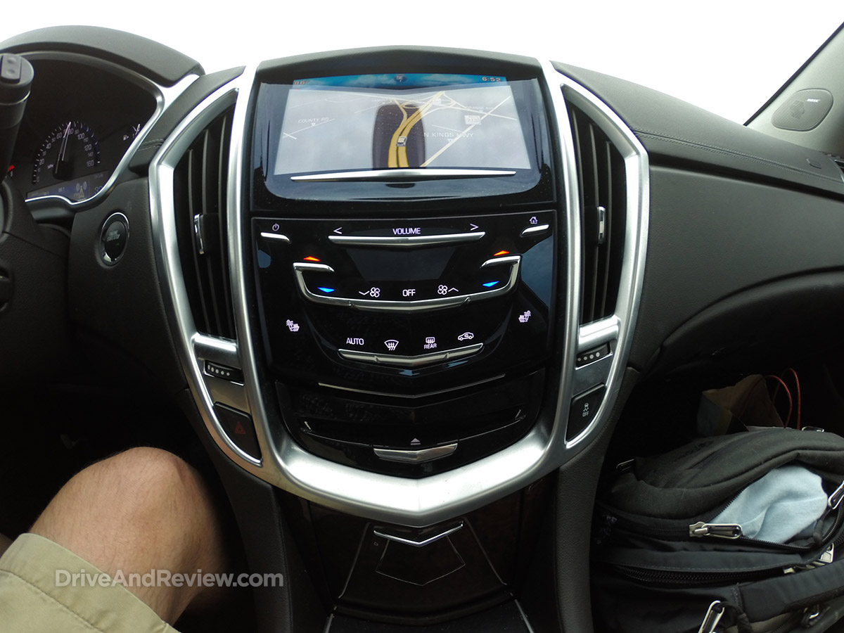 2016 cadillac SRX center stack
