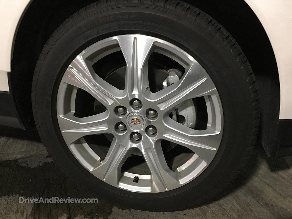 cadillac SRX 20 inch wheels