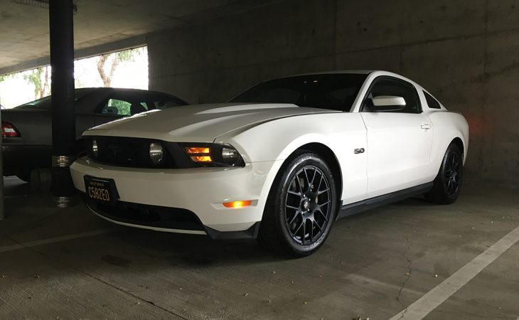 white 2012 Ford Mustang GT