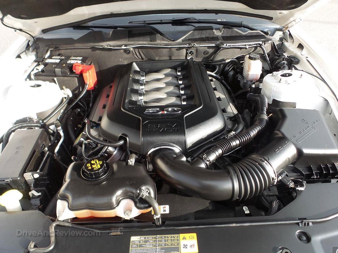5.0 L Coyote V8