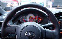 Scion FR-S steering wheel and gauges