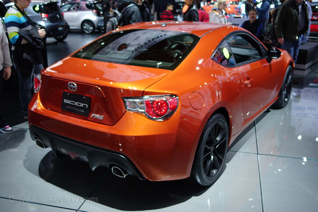 Scion FR-S sunset orange