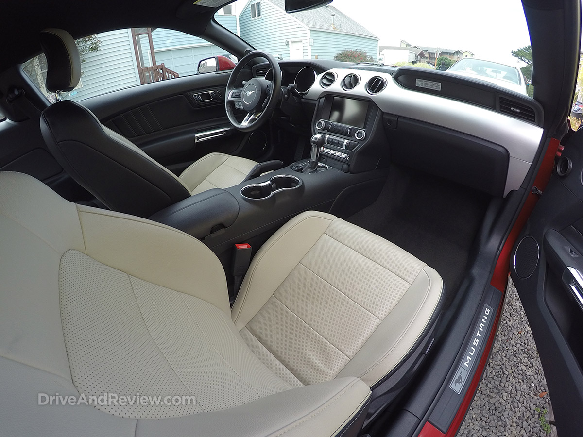 2015 EcoBoost mustang interior
