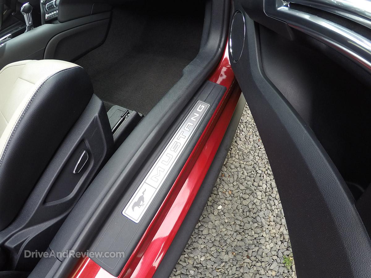 2015 ecoboost mustang door sill plate