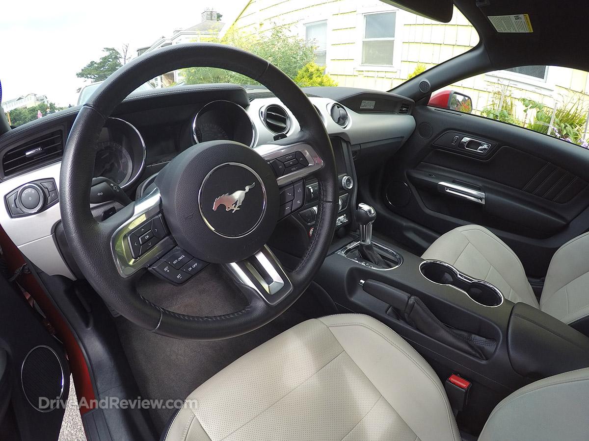 2015 ecoboost mustang steering wheel
