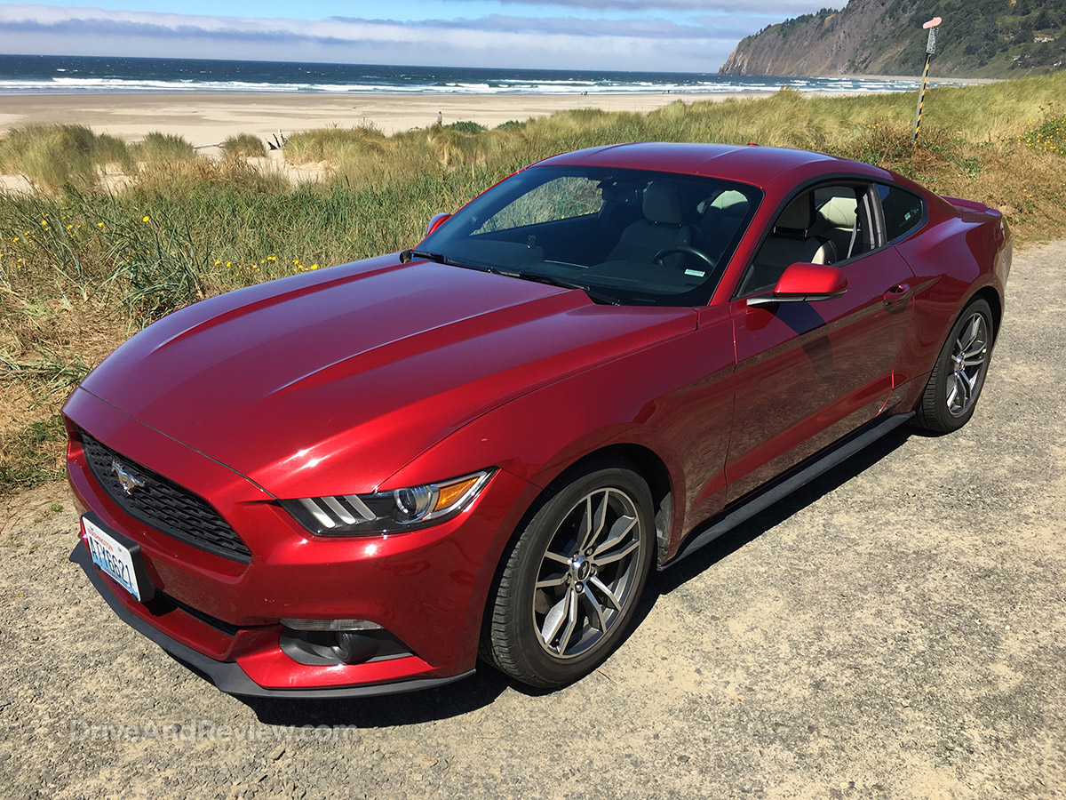 red 2015 ecoboost mustang